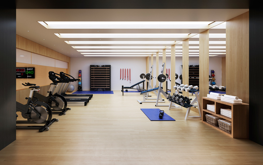 Health and wellness are an integral part of life at 221 West 77. The gym is equipped with state-of-the-art exercise machines and free weights, so residents can work out in the privacy and convenience of home.